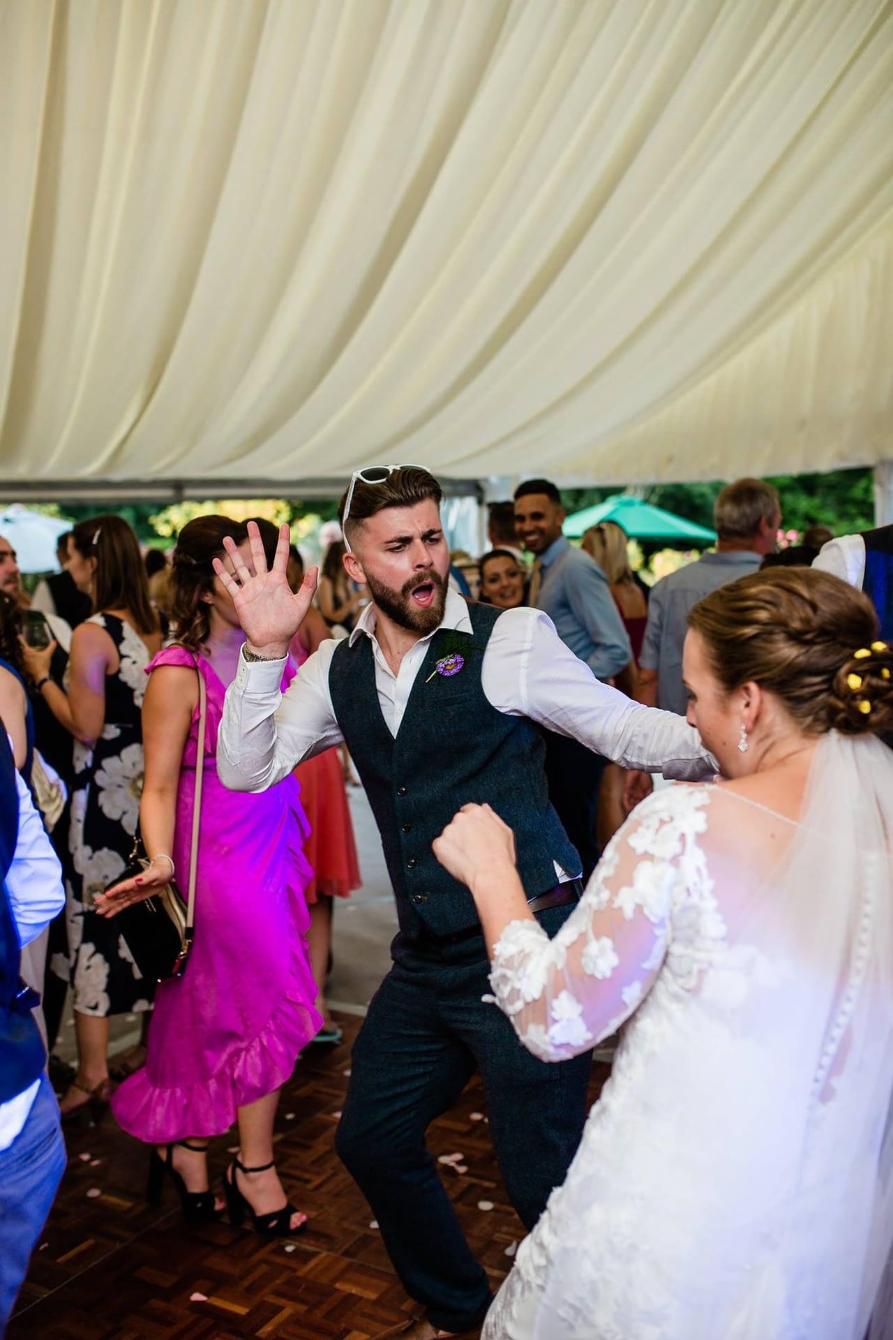 Jamie Dancing Wedding